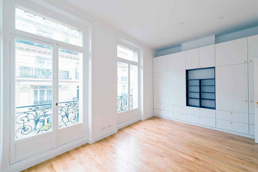 Rénovation appartement Paris 16 eme