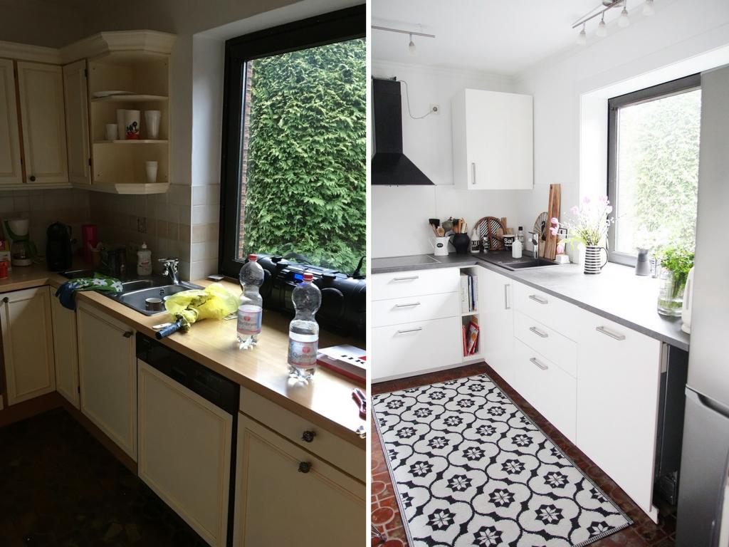 Pose d'une nouvelle cuisine + carrelage